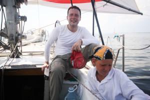 Экипаж яхты Карат